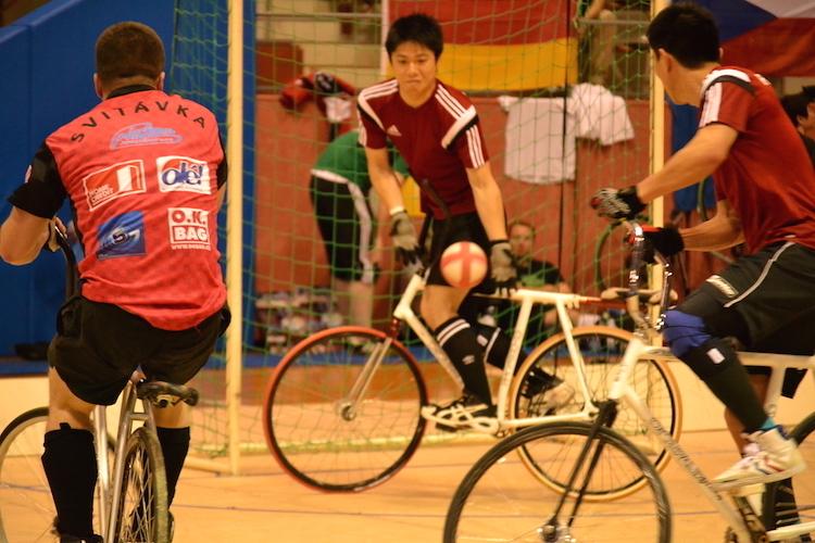 自転車 室内